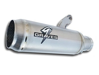 Graves Motorsports Yamaha R1 Moto1 Cat Back Exhaust