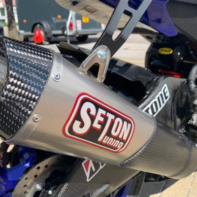 Seton Tuning New Exhaust