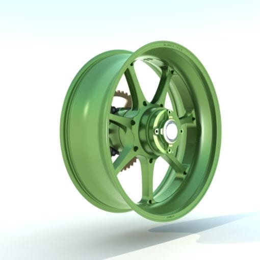 Dymag UP7X Japanese Green
